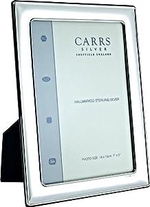 Carrs Silver Plain Lightweight Photo Frame - 6x4 Inch