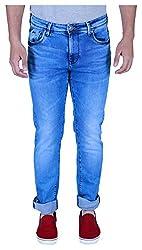 INTEGRITI Men's Jeans (DOMINANCE-199 S LNFT MSTN_34, Blue, 34)