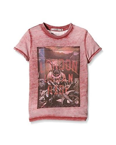 Pepe Jeans London Camiseta Manga Corta Tegan Rojo Oscuro