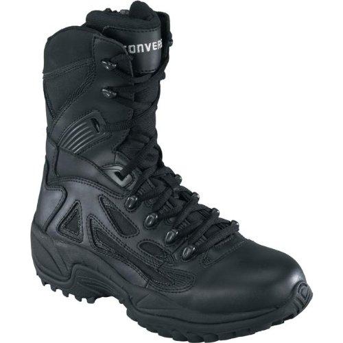 17b2409797b8 Converse C8874 Men s Stealth Swat Boot Composite Toe Black 9.5 M