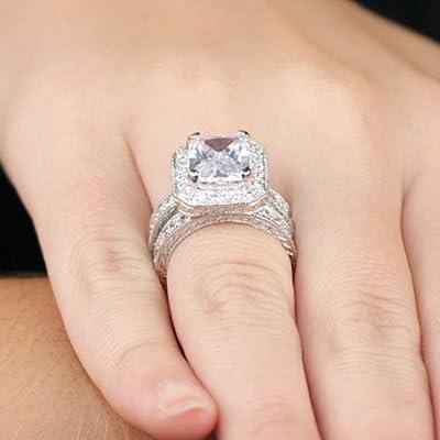 Jessica Alba's Best: Jessica Alba Inspired CZ Engagement ...