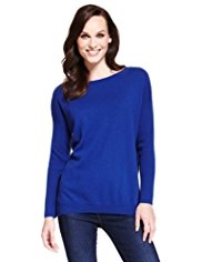 M&S Collection Pure Cashmere Boxy Jumper