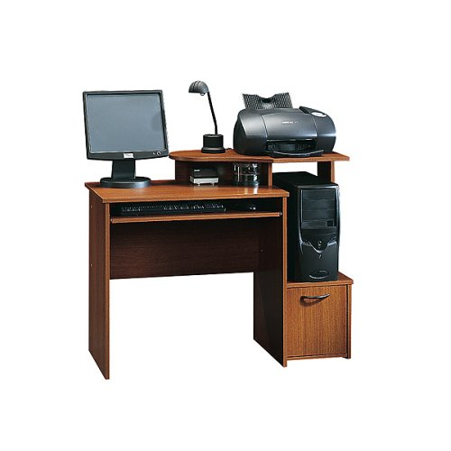 Sauder Computer Desk- Mission Cherry