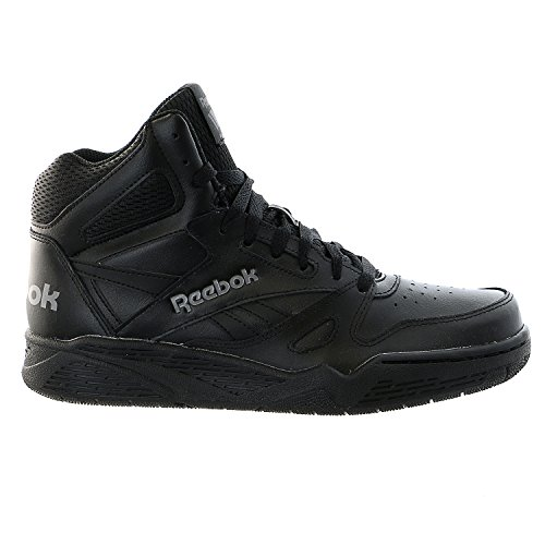 Reebok Men's Royal Bb4500 Hi Fashion Sneaker, Black/Shark, 11 M US