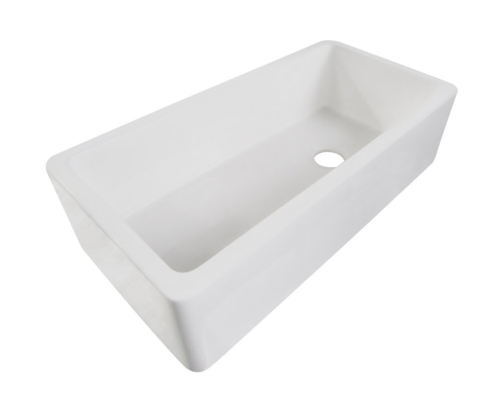 36 Inch White Farmhouse Sink