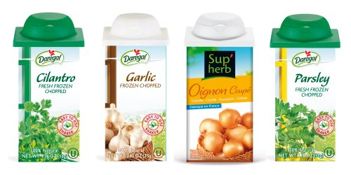 Fresh Frozen Chopped Herbs for Guacamole - Onion, Garlic, Parsley & Cilantro