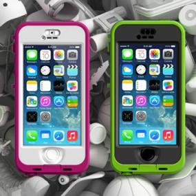 purchase cheap a7e73 ed0e3 Lifeproof Nuud Case for iPhone 5s - Retail Packaging - Blaze Pink/Clear...