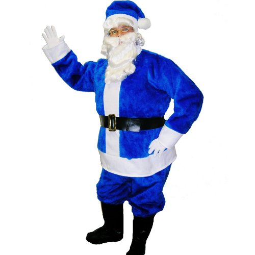 Halco Men's Santa Suit Adult Costume