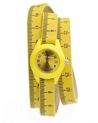 Il mezzometro Orologio con Movimento Miyota Classic Time 58 Cm Giallo 32  mm