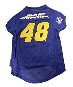 DoggieNation 304284 Xtra Large Jimmie Johnson Dog Jersey by DoggieNation