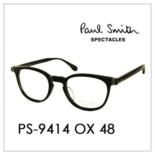 PAUL SMITH ポールスミス  メガネフレーム サングラス 伊達メガネ 眼鏡 PS-9414 OX 48 PAUL SMITH専用ケース付 スペクタクルズ