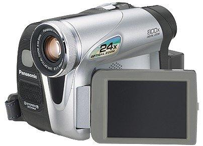Panasonic NV-GS17B MiniDV Digital Camcorder [24x Optical, 2.5