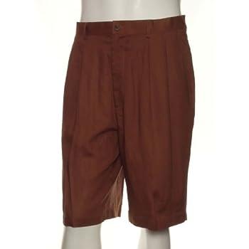 Men's 100% linen shorts