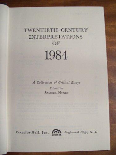 Twentieth Century Interpretations of 1984: A Collection of Critical Essays