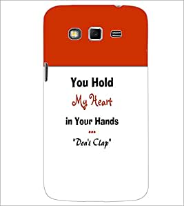 PrintDhaba Quote D-5968 Back Case Cover for SAMSUNG GALAXY GRAND 2 (Multi-Coloured)