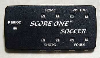 Score One Soccer Scorekeeper with Clip