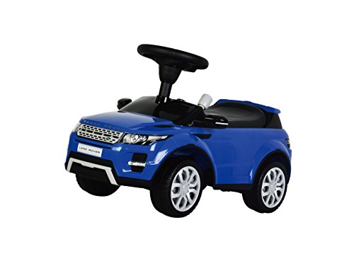 Kids Preferred Range Rover Evoque W Sound Ride-On, Blue (Range Rover Baby compare prices)