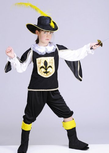 childrens-size-black-musketeer-boy-costume-small-3-5yrs