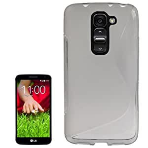 S Line Anti-skid Frosted TPU Case for LG G2 mini (Grey)