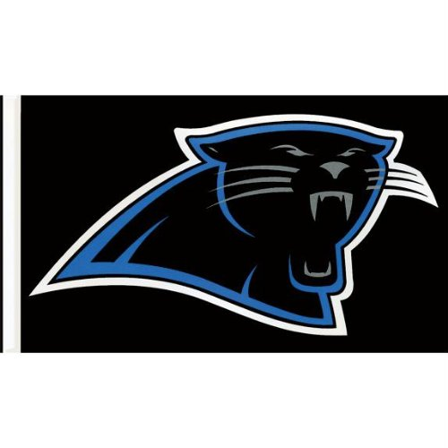 Carolina Panthers - Logo 3'X5' Flag