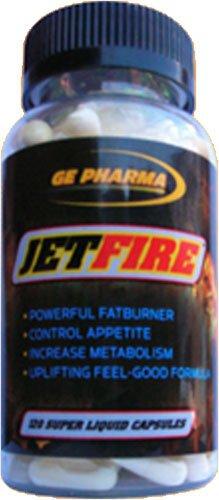 GE Pharma Jet Fire, 120-capsule Bottle
