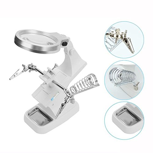 hotkey-multifunctional-led-helping-hand-magnifying-soldering-iron-stand-lens-magnifier-clamp-tool-ki