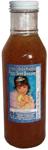 10 Oz. Onion Princess Poppy Seed Dressing front-218543