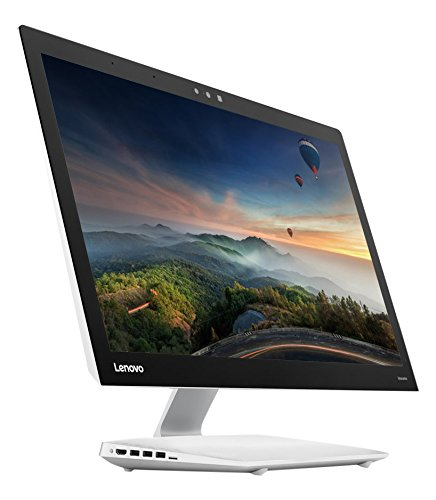 Lenovo F0C2003FIX Ideacentre 910-27ISH All-in-One, Processore Intel Quad-Core i5-6400T 2.2 GHz, RAM 8GB, HDD 1TB e SSD 128GB, Scheda Video Discrete GPU Nvidia GT940A, Argento