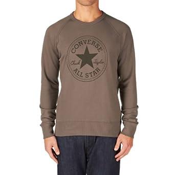 Buy Converse Mens Corepl CH Patch Sweatshirt by Converse