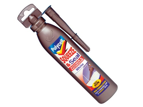Polycell SQSKW300S 300ml Kitchen/ Bathroom Squeeze