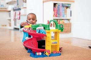 Fisher-Price Little People Racin' Ramps Garage