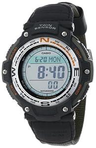Casio Mens SGW100B-3V Digital Compass Twin Sensor Sport Watch by Casio