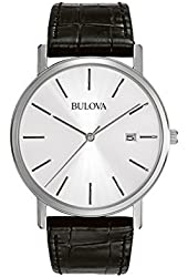 Bulova Men's 96B104 Stainless Steel Dress Watch