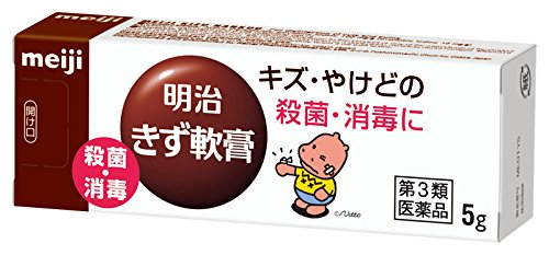 【第3類医薬品】明治きず軟膏 5g