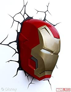 Iron Man Mask 3D Deco Light from Marvel