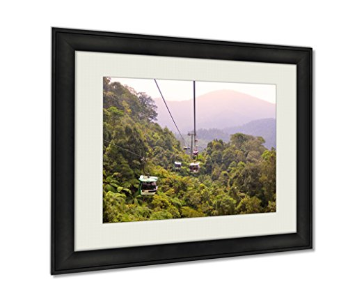 ashley-framed-prints-cable-car-ferrying-passengers-up-and-down-the-mountai-black-24x30-art
