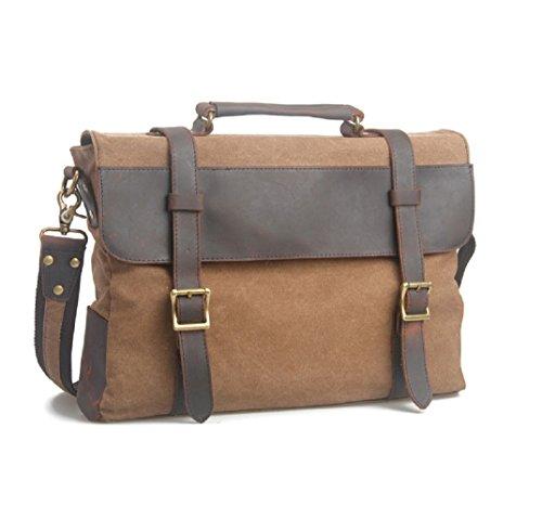 nasis-vintage-canvas-leather-messenger-traveling-briefcase-shoulder-laptop-bag-al4042-coffee