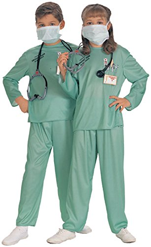 Rubie's Costume Co - Doctor ER Child Costume - 4-6 - Green
