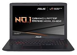 ASUS ROG GL552VX-CN239T 15.6-Inch Gaming Laptop (Black) - (Intel Core i5-6300HQ 2.3 GHz Processor, 8 GB RAM, 1 TB HDD Plus 128 GB SSD, NVIDIA GeForce GTX 950M, Windows 10)