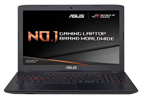 ASUS ROG GL552VX-CN239T 15.6-Inch Gaming Laptop (Black) - (Intel Core i5-6300HQ 2.3 GHz Processor, 8 GB RAM, 1 TB HDD Plus 128 GB SSD, NVIDIA GeForce GTX 950M, Windows 10)