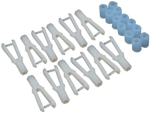 Great Planes Nylon Clevis 2-56 (Set of 12)