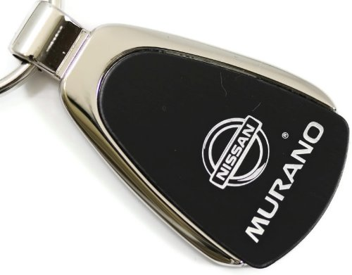 Nissan Murano Black Teardrop Key Fob Authentic Logo Key Chain Key Ring Keychain Lanyard (Nissan Murano Cast compare prices)