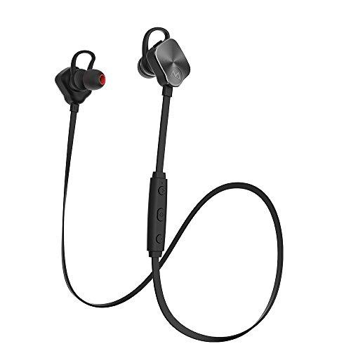 Mpow Magneto スポーツイヤホン Bluetooth4.1ヘッドセ...