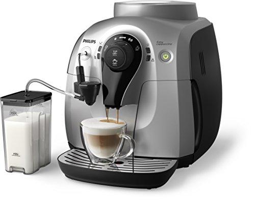 Philips HD8652/51 2100 Serie Kaffeevollautomat, Cappuccino auf Knopfdruck, silber thumbnail