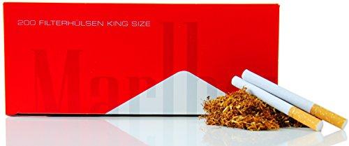 Marlboro Involucri per sigarette, 200 pz, confezione XL