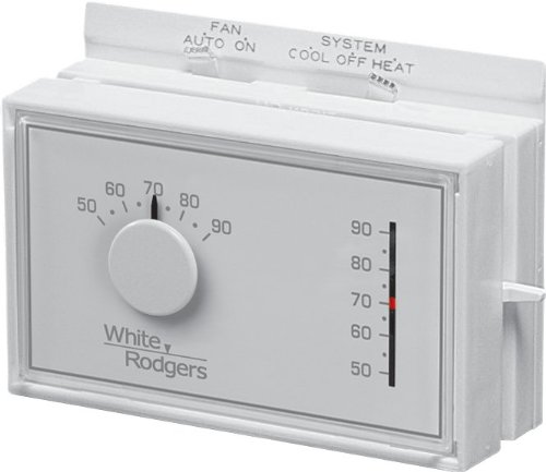 White-Rodgers 1F56N-444 Mechanical Heat/Cool Thermostat