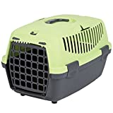 Trixie Capri I Hard Shell Pet Carrier in Dark Green/pastel Green