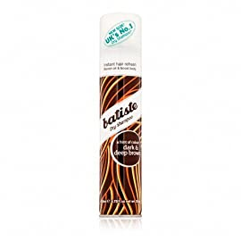 Batiste Dry Shampoo, a hint of color - Dark & Deep Brown 6.73 fl oz (120 g)