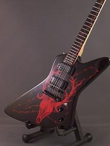 Mini Guitar METALLICA JAMES HETFIELD Elk Skull