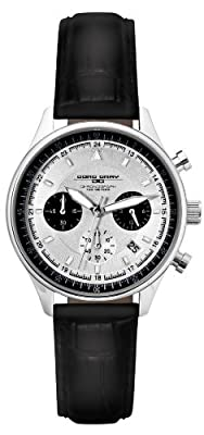 Jorg Gray JG6550L Women's Chronographs Silver Dial 100M WR Watch by Jorg Gray